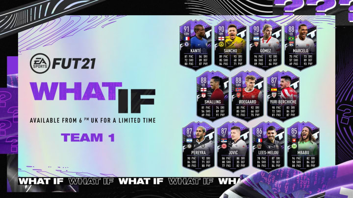"""The New """"What If"""" promotion has gone live in FIFA 21 Ultimate Team."""