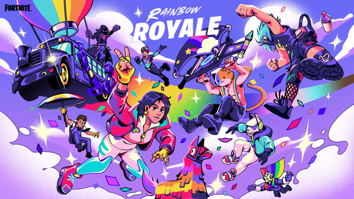 Epic Games is celebrating its LGBTQIA+ community members with the Rainbow Royale weeklong event.
