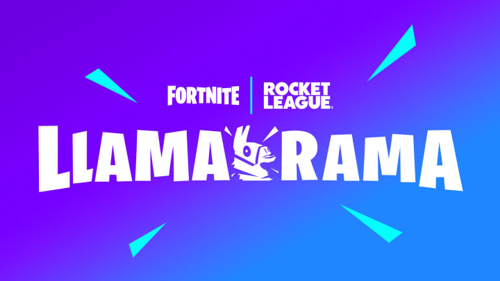 Fortnite Rocket League rewards are available during the Llama-Rama crossover