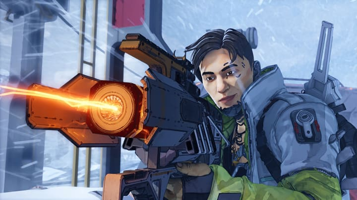 Crypto wielding the Charge Rifle