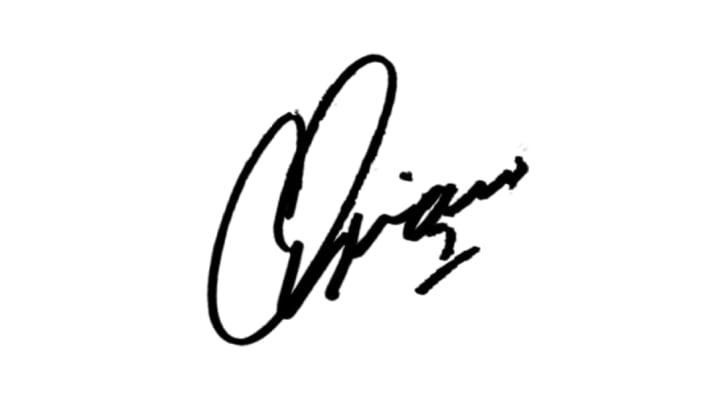 Autografo Adriano Imperador assinatura