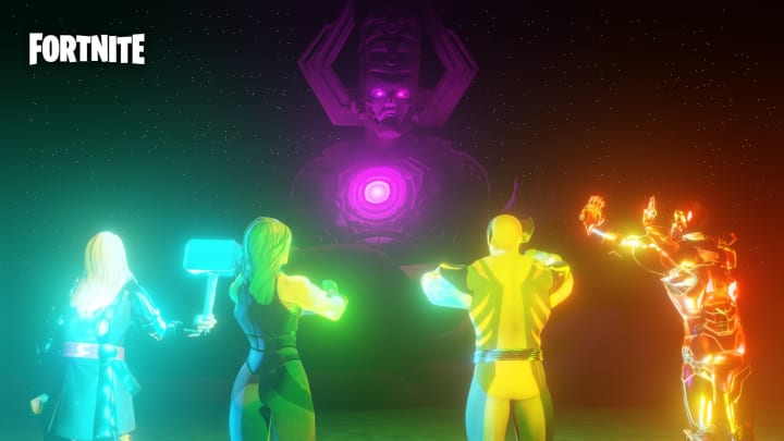 Fortnite Galactus Event Start Date When Is It Galan or (aka galactus or the devourer of worlds) is a cosmic entity who originally consumed planets to sustain his life force, originating from the marvel universe earth 616. fortnite galactus event start date