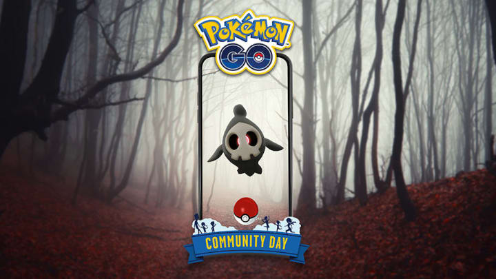 Niantic Labs announced that Duskull will be the featured Pokemon for the monthly Community Day event on Oct. 9, 2021.
