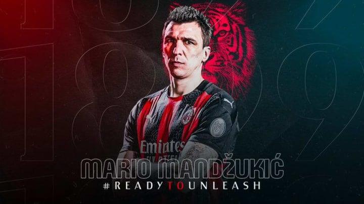 Mario Mandzukic est officiellement Milanais.