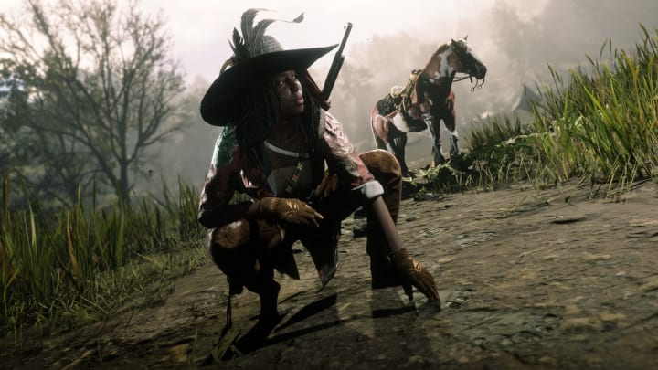 Get down and dirty as The Naturalist in Red Dead Online.