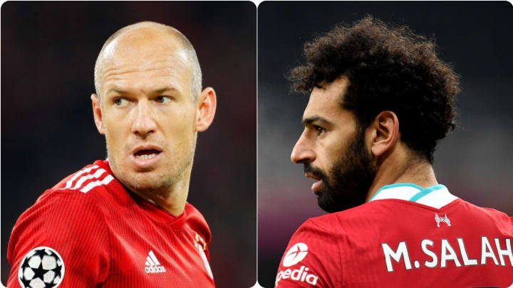 Arjen Robben and Mohamed Salah have both electrified the game