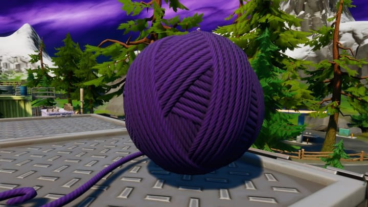 The Catty Corner's Yarn challenge is part of Fortnite Chapter 2 Season 3 Week 7 challenges.