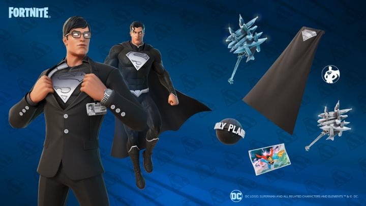 Shadow Superman's cosmetics.