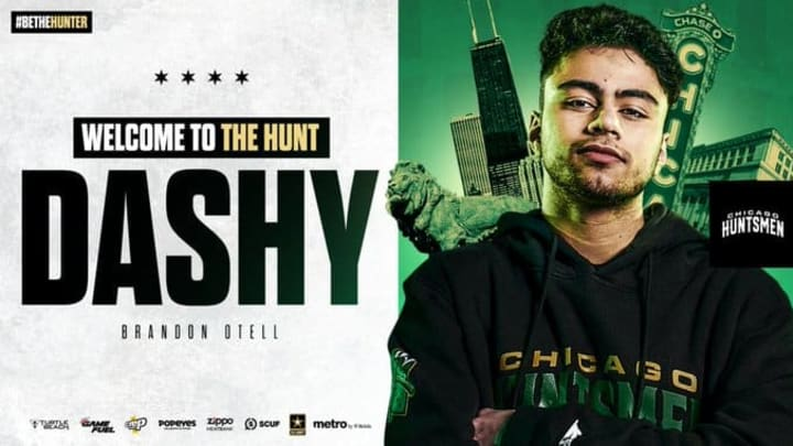 The Chicago Huntsmen signed Dashy for the 2021 CDL season.