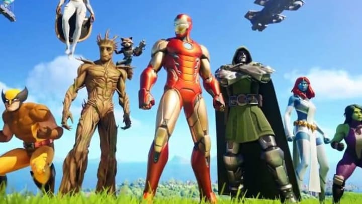 Where does Iron Man spawn inside Stark Industries in Fortnite