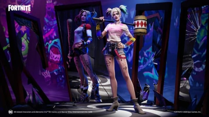 A Harley Quinn skin arrives with a DC comics crossover
