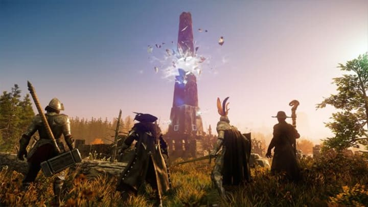 New World's closed beta went live on July 20