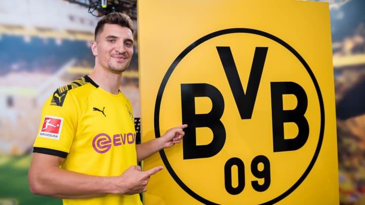 Thomas Meunier s'est engagé avec le Borussia Dortmund.