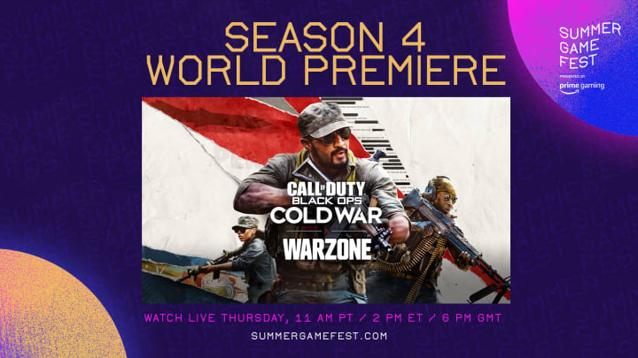 Call of Duty: Warzone fans are ready to watch the Warzone Season 4 reveal during the Summer Game Fest this week.