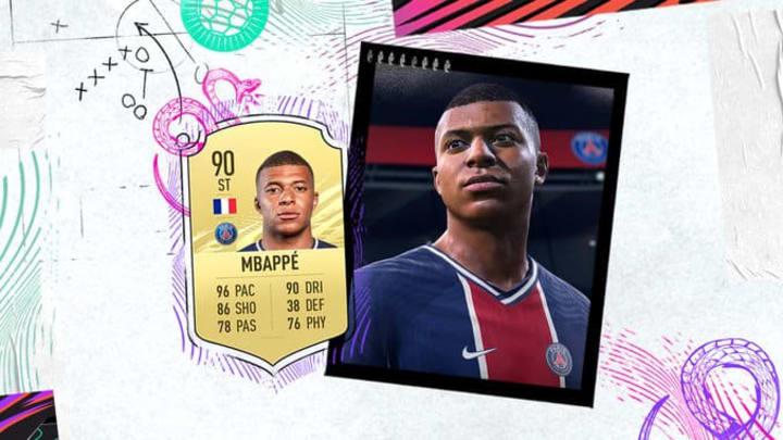 Kylian Mbappe has five-star skills in FIFA 21.