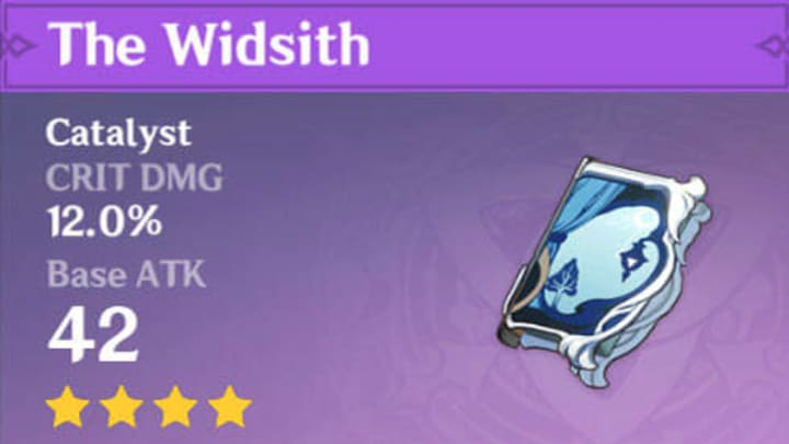 The Widsith Full Weapon Description