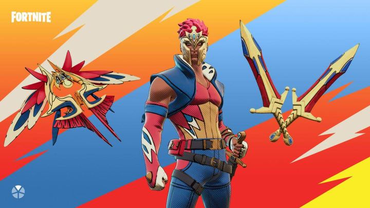 The newest Fortnite set two new outfits, pickaxes and more