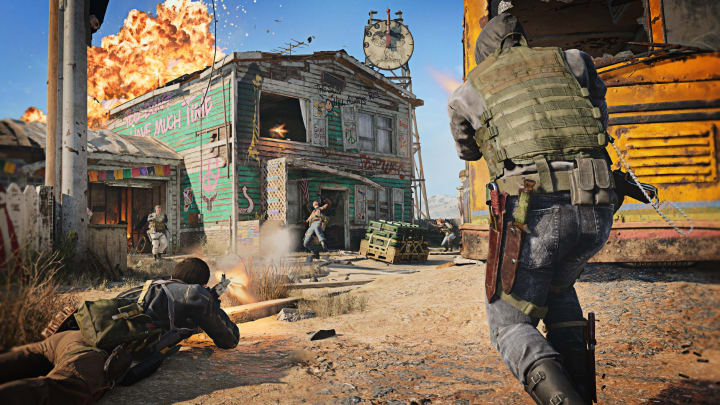 Nuketown '84 is a Black Ops Cold War remake of Nuketown, a map from the original Black Ops game.