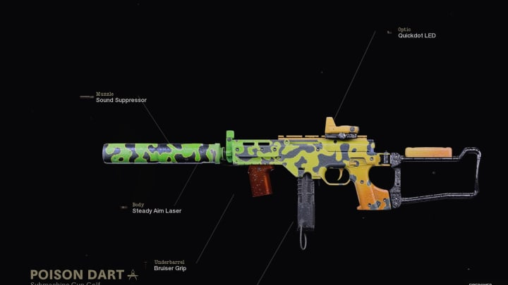 How to unlock the Poison Dart weapon blueprint in Warzone