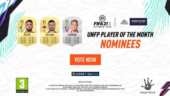 Fifa 21 Ligue 1 November Potm How To Vote Nominees Release Date