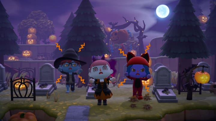 What you can expect in Animal Crossing this Halloween night.