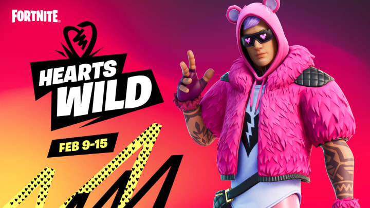 Fortnite's find a rose challenge is one of the many tasks apart of Week 11's Hearts Wild Cup.