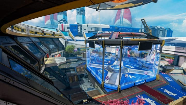 A bug allowing players to take weapons into the Pathfinder Town Takeover boxing ring has been hotfixed in Apex Legends.