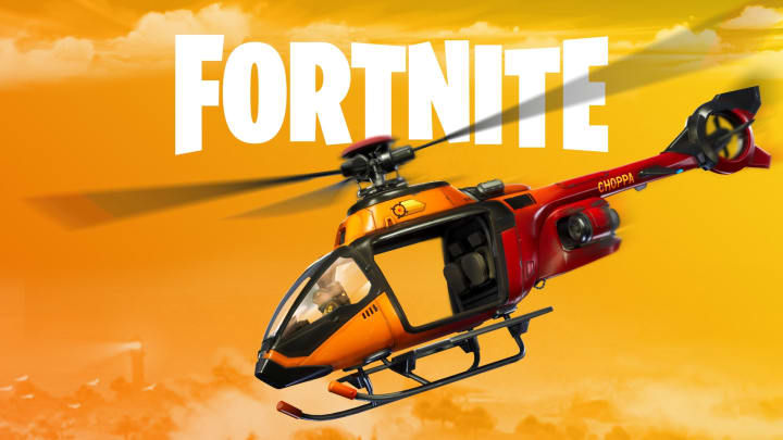 Fortnite helicopter locations can be visited on foot and departed by air.