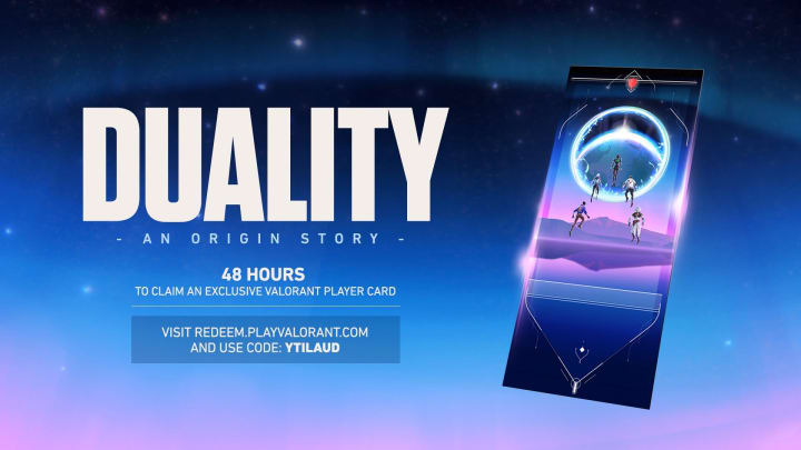 The new Duality player card is now available for players to claim.