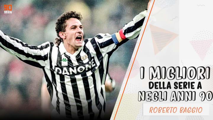 Roberto Baggio - I migliori della Serie A negli anni '90