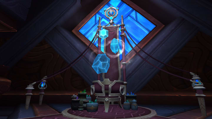 Near the Jewelcrafting trainer in the Hall of Shapes