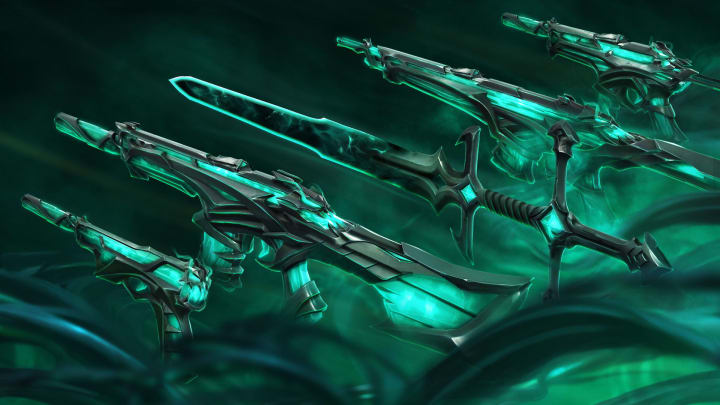 Valorant's latest weapon skin bundle has been leaked on Twitter ahead of its official launch.