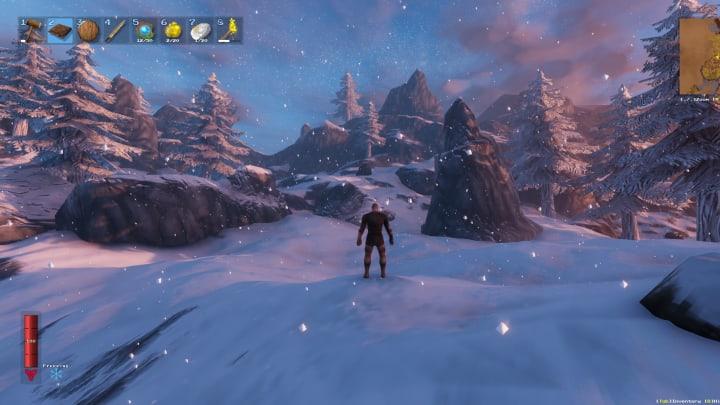 Valheim Snow Biome