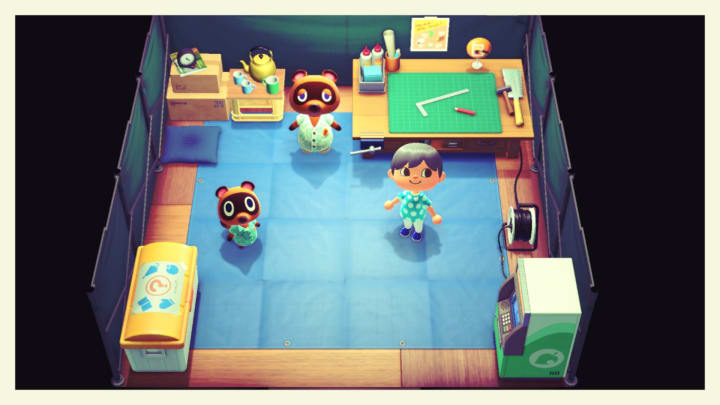 """Animal Crossing New Horizons """"Test Your DIY Skills"""" is a set of DIY recipes you can get to craft new furniture."""