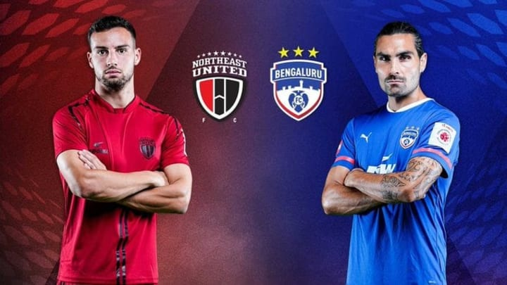 NorthEast United FC vs Bengaluru FC