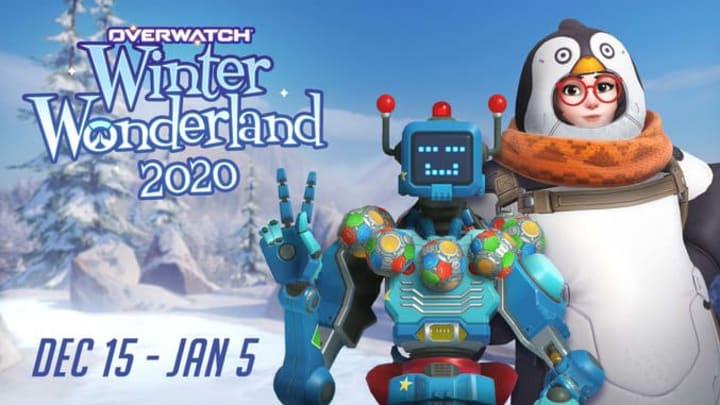 Overwatch Winter Wonderland 2020  - cover