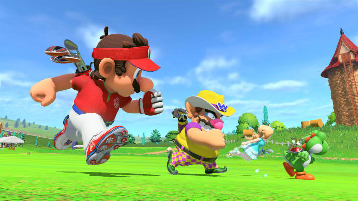 Tell us you're a Mario Golf fan without telling us you're a Mario Golf fan.