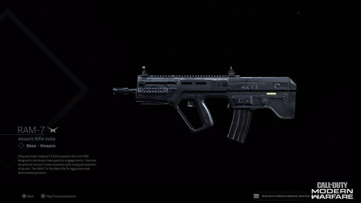 A Warzone Ram-7 build will vary from player to player and is best for medium-range engagements.