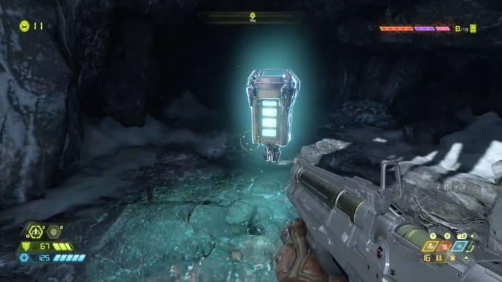 A Sentinel Battery in Doom Eternal.