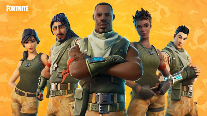 Fortnite's Origins Set includes the game's first ever skins.