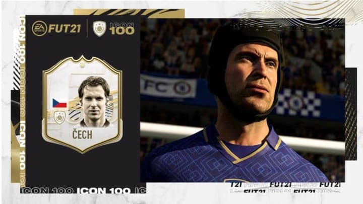 Petr Cech is an Icon in FIFA 21.