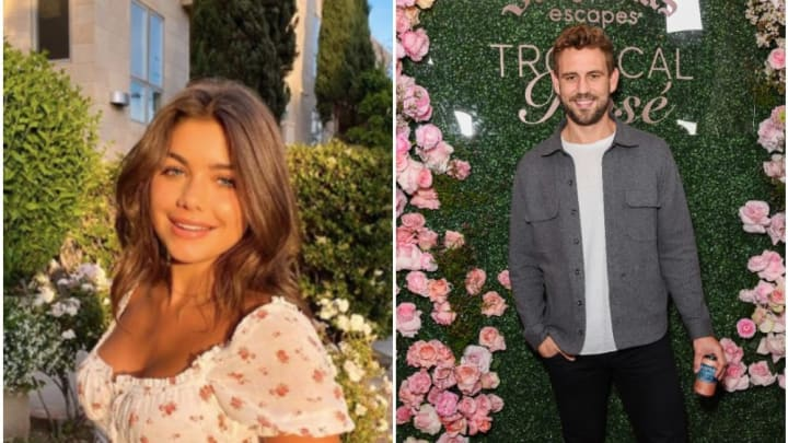 'Bachelor' alums Hannah Ann Sluss and Nick Viall flirt on Instagram.