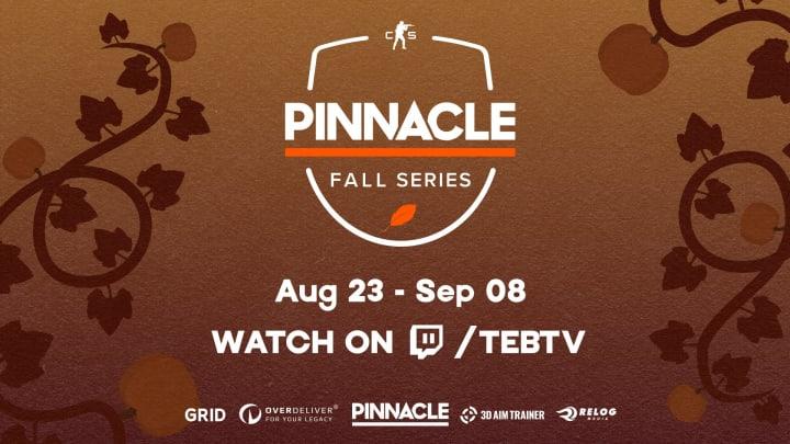 The Fall Pinnacle Series kicks off Monday.