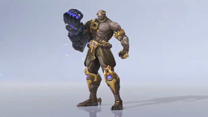 The concept for the Overwatch League Doomfist Championship skin has been released.
