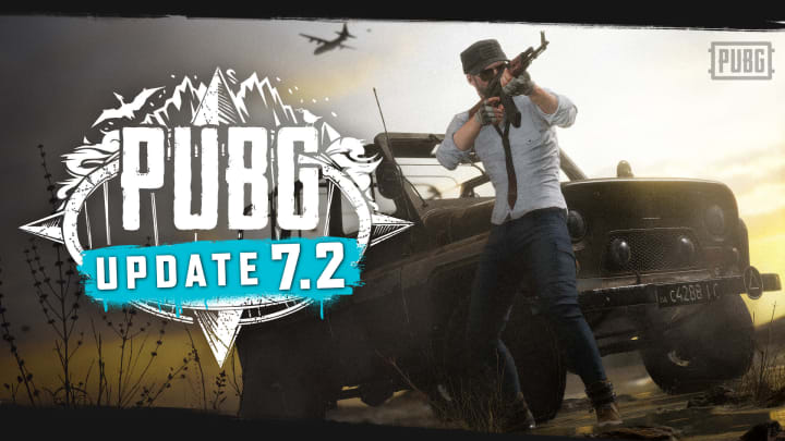 Weapon and Armor Changes are in the latest PUBG Patch 7.2