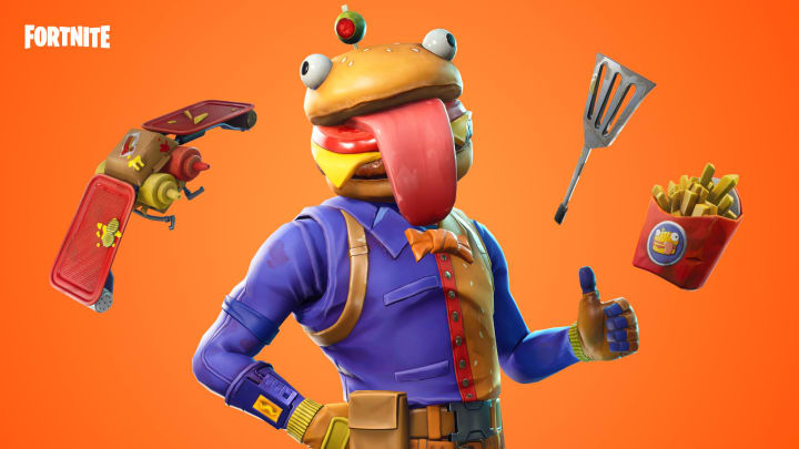 How to complete talk with Beef Boss, Remedy, and Dummy Fortnite challenge.