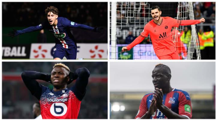 Aouchiche, Osimhen, Sakho et Icardi à la une des nouvelles de transferts.