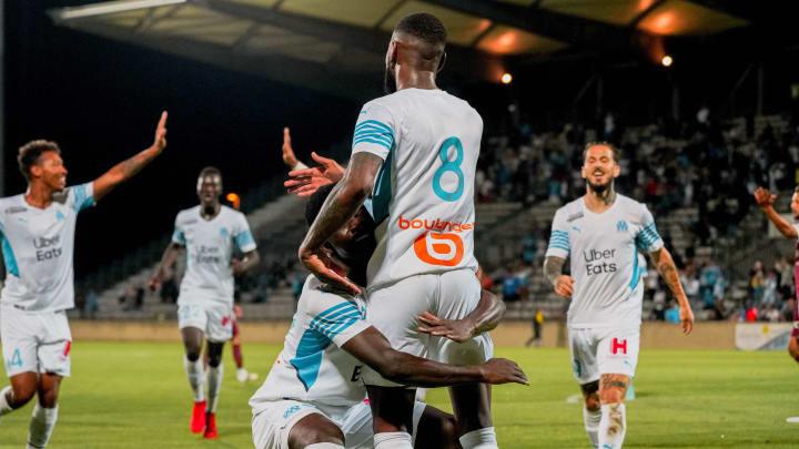 Gerson a marqué son premier but sous les couleurs de l'OM.