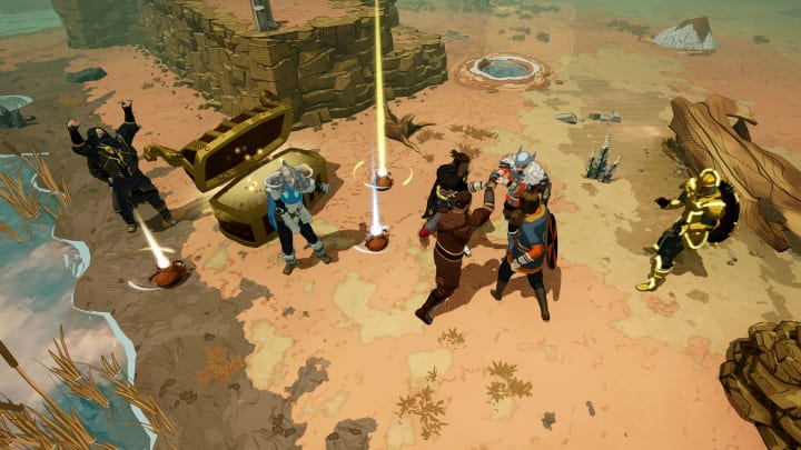 Tribes of Midgard, Norsfell's brand-new 1-10 player co-op action survival RPG game, launched on July 27, 2021.