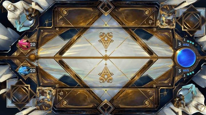 Legends of Runeterra Sentinel HQ board